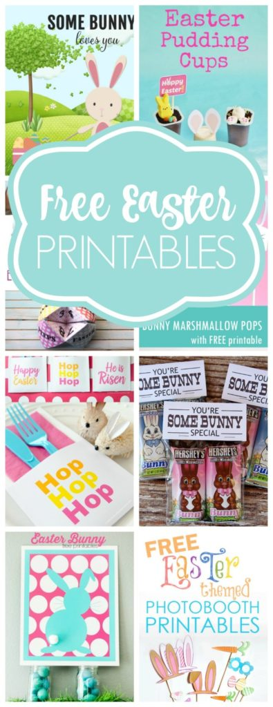 Free Easter Printables - Pretty My Party