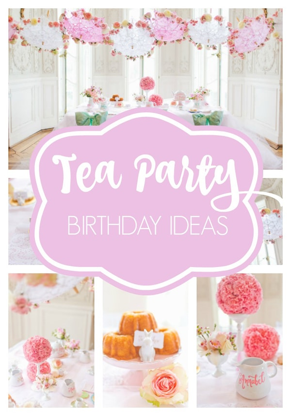 Sweet Tea Birthday Party Pretty My Party Party Ideas