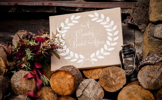 Rustic Ski Lodge Wedding Styled Shoot