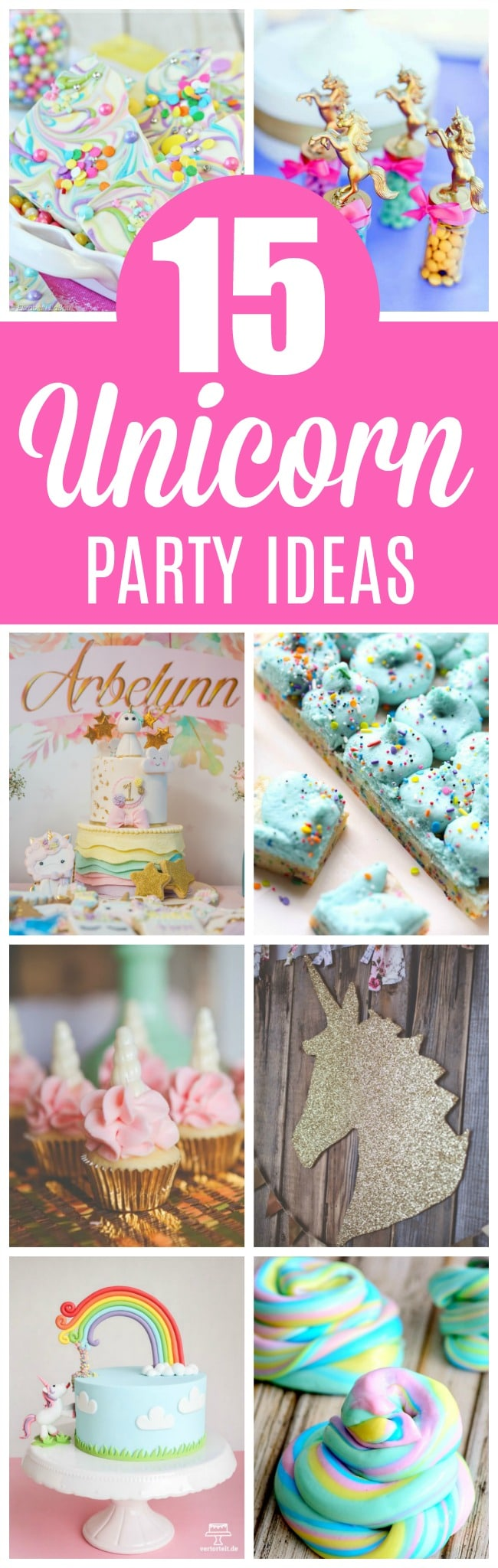 15 Magical Unicorn Party Ideas Everyone Will Love - Pretty My Party