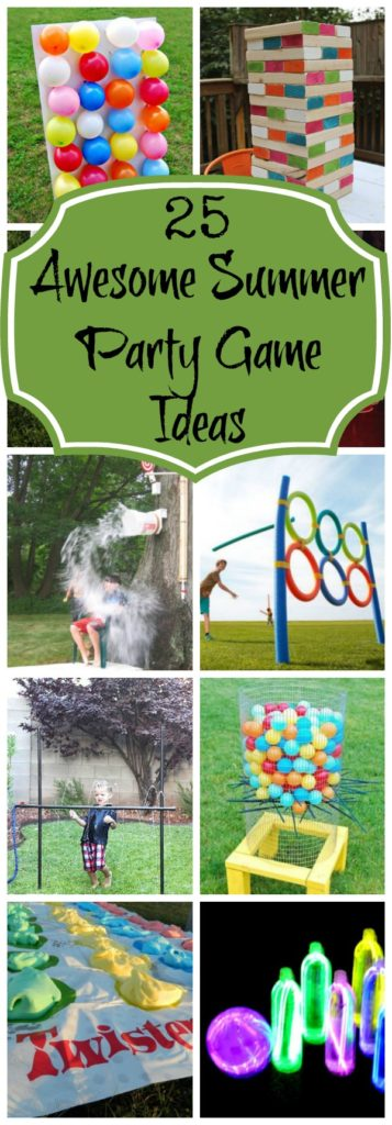 Backyard Birthday Party Ideas For Kids 25 Fun Games To Play Outside and For Backyard Parties - Pretty My Party