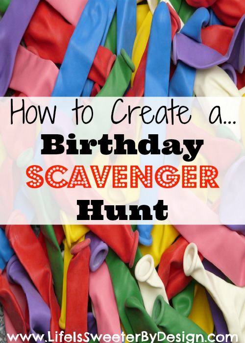 Birthday Scavenger Hunt, 10 Ways to Entertain Kids at Birthday Parties via Pretty My Party