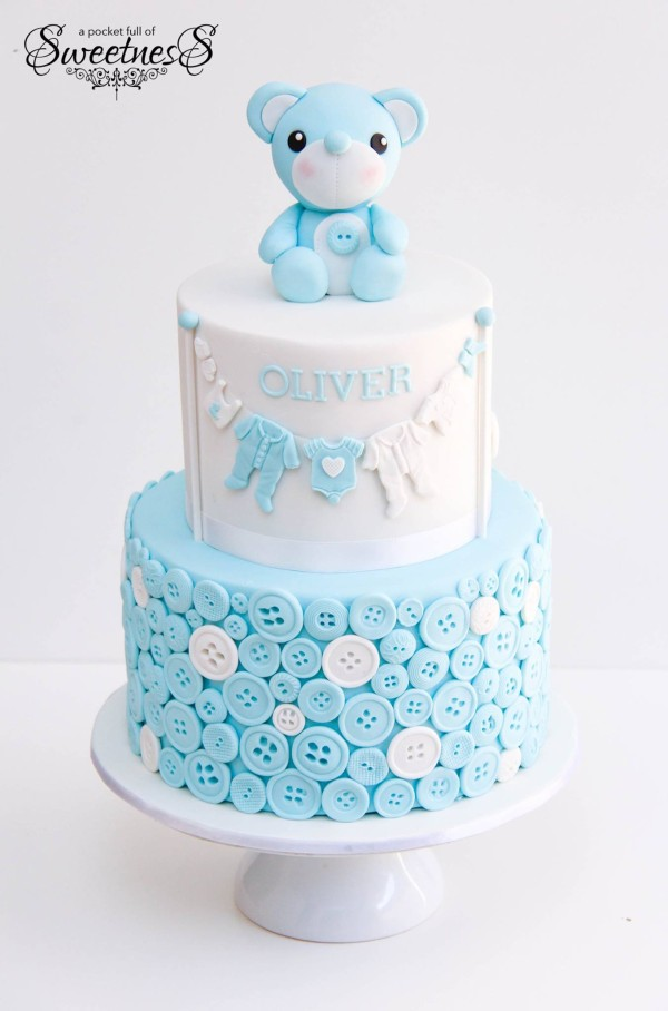 10 Gorgeous Baby Shower Cakes Pretty My Party Party Ideas