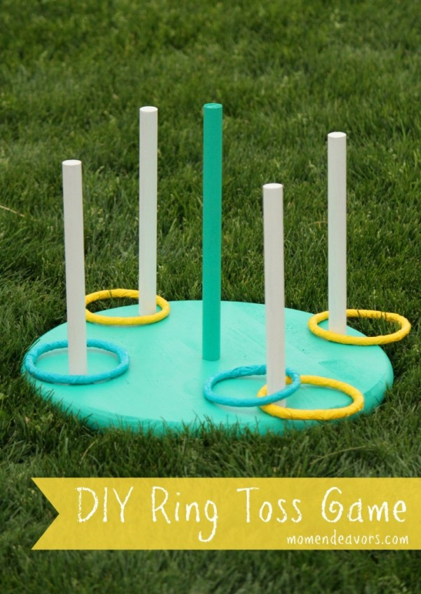 DIY Ring Toss Game, Yard Games