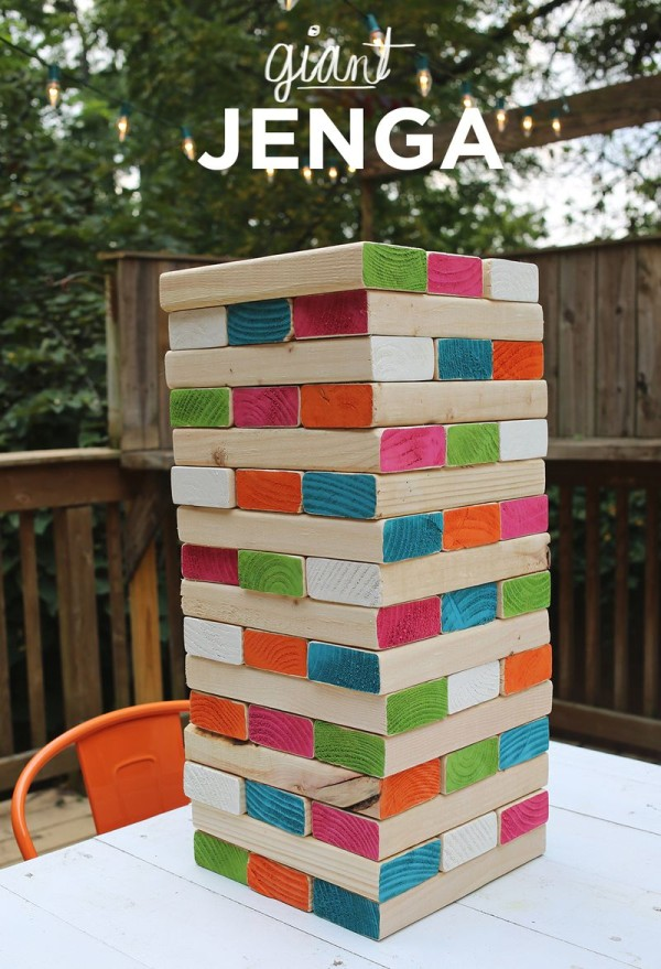 Giant Jenga, Fun Games To Play