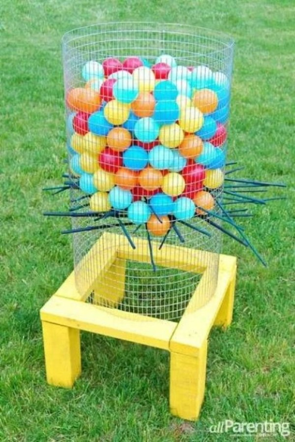 Jumbo Kerplunk Game 25 Best Backyard Birthday Bash Games