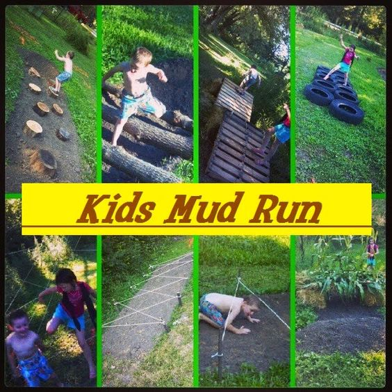 Kids Mud Run - Fun Outdoor Games