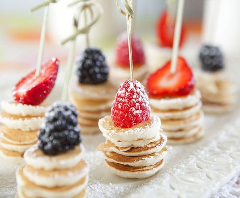 Mini pancakes - Party Finger Foods