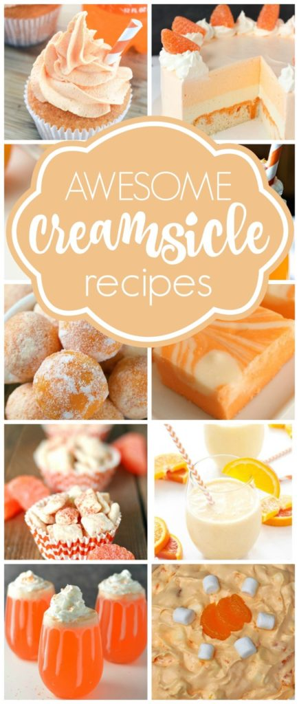 Best Creamsicle Dessert Recipes - Pretty My Party