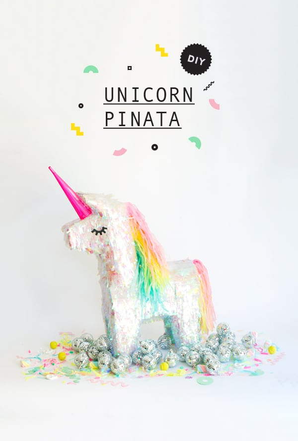 DIY Unicorn Pinata - Unicorn Party Ideas