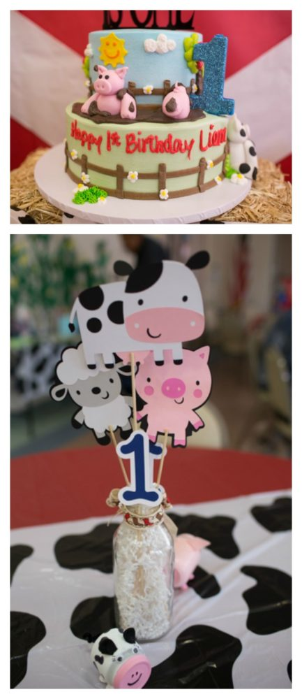 Farm Themed First Birthday Party Pretty My Party Party Ideas