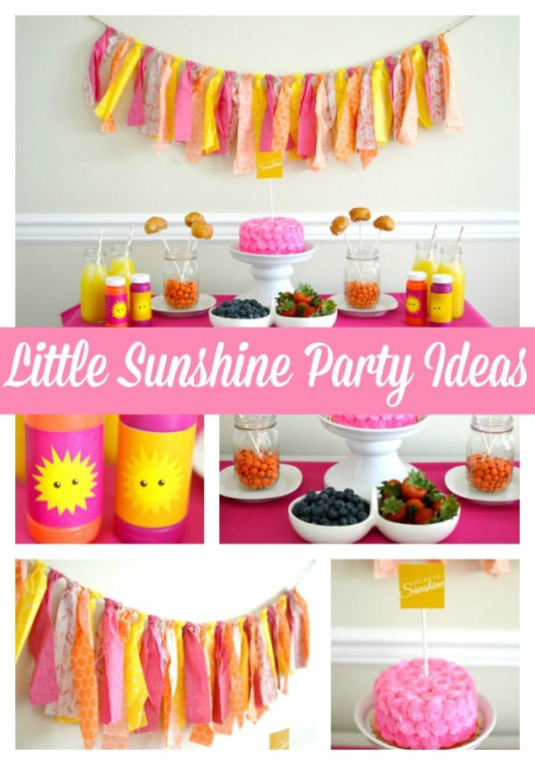 girly-sunshine-party-theme
