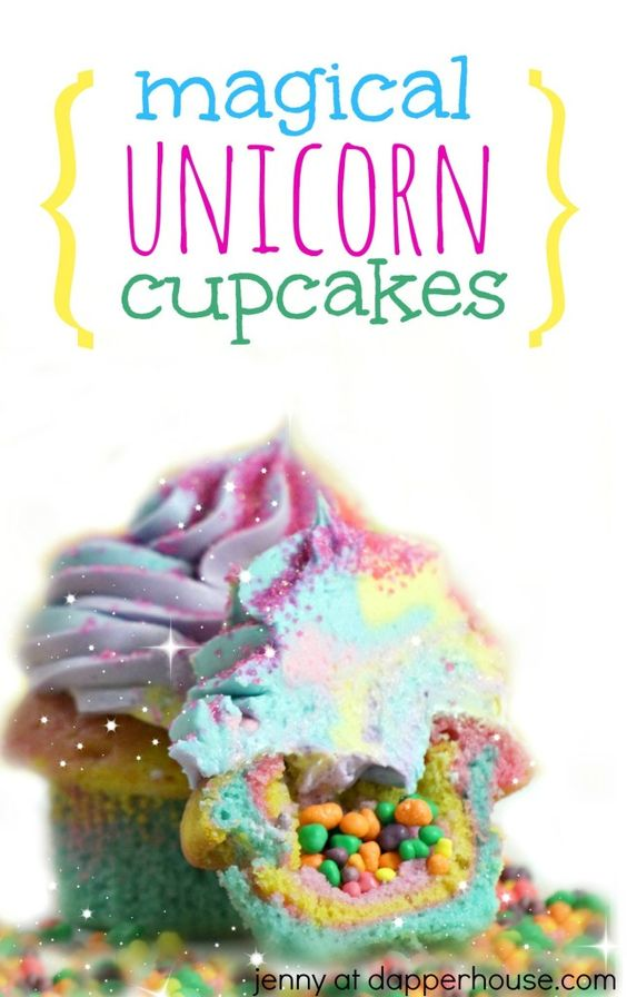 Magical Unicorn Cupcakes - Unicorn Party Ideas