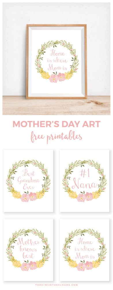 Free Mother's Day Printables | Pretty My Party