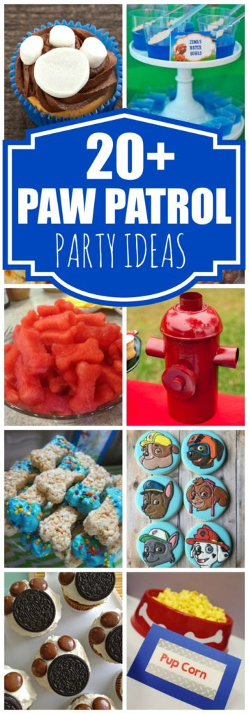 20+ Creative Paw Patrol Party Ideas | Pretty My Party