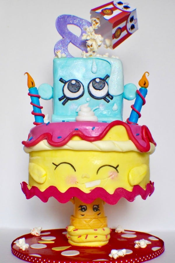 Shopkins birthday cake ideas.