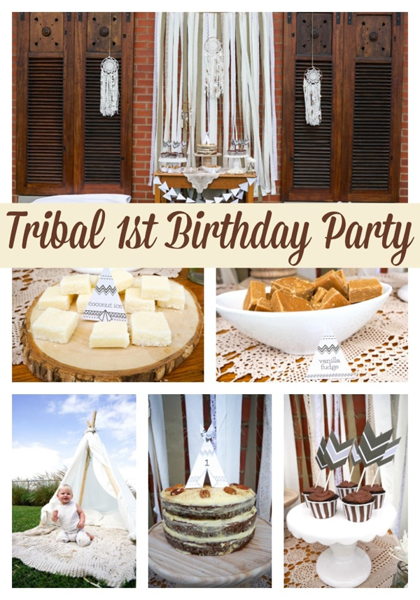 tribal-1st-birthday-party-ideas