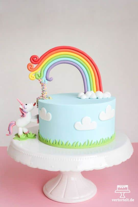 Unicorn Cake - Unicorn Party Ideas