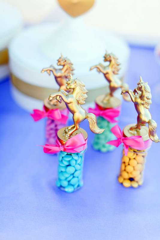 Unicorn Candy Party Favors - Unicorn Party Ideas