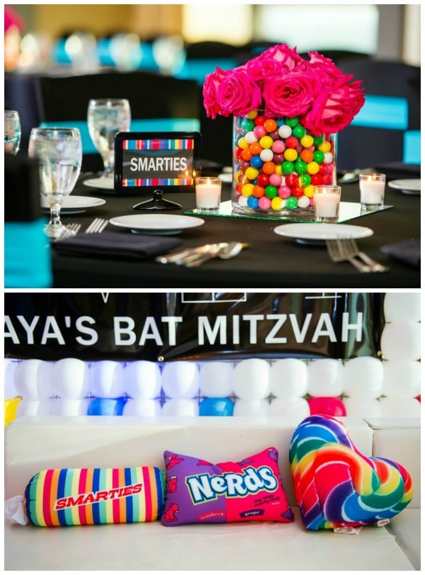 Candy Themed Bat Mitzvah | Pretty My Party
