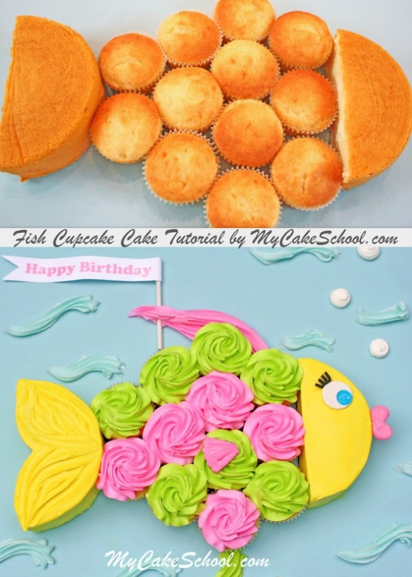 Groovy 21 Pull Apart Cupcake Cake Ideas Pretty My Party Party Ideas Funny Birthday Cards Online Unhofree Goldxyz