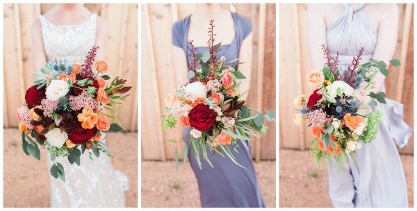 Southern Rustic Charm Wedding Theme bouquets | Pretty My Party