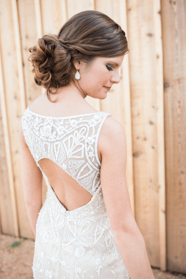 Southern Rustic Charm Wedding Theme bride| Pretty My Party