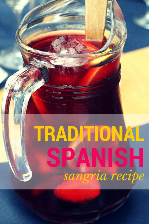 Best Traditional Spanish Sangria Recipe