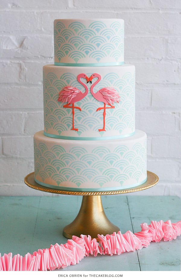Flamingo Cake, 21 Sizzling Summer Birthday Cake Ideas | Pretty My Party