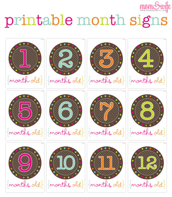 This is an image of Free Printable Baby Month Stickers pertaining to june