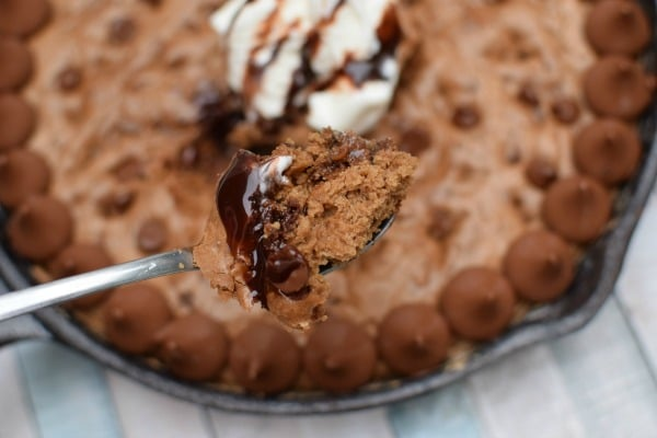 Hersheys Kisses Skillet Cookie Recipe | Pretty My Party