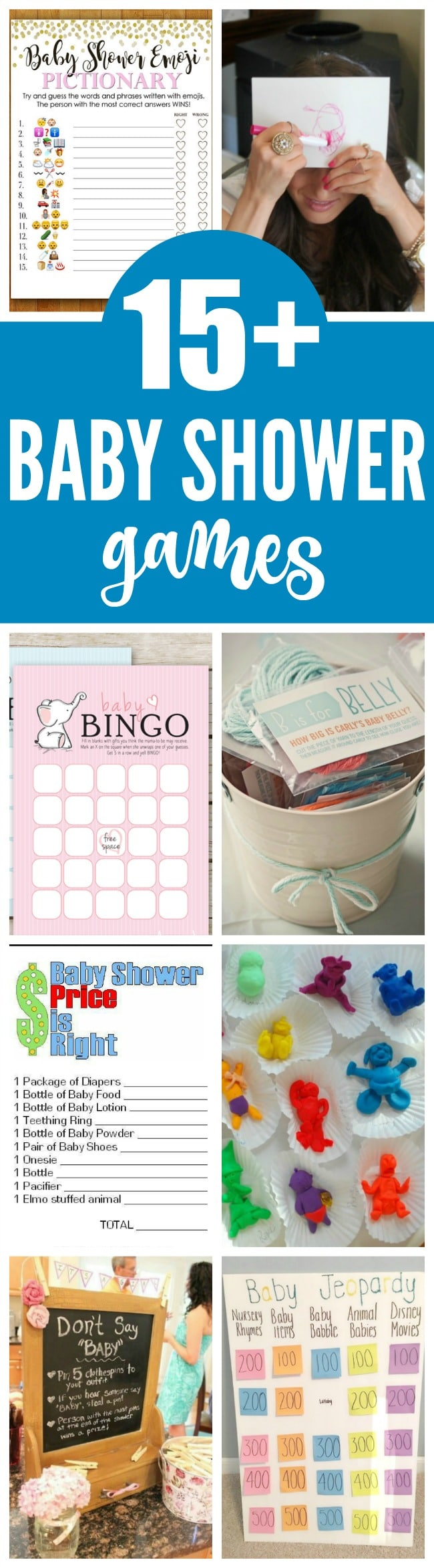 8b3c67f8734 15 Entertaining Baby Shower Games - Pretty My Party - Party Ideas