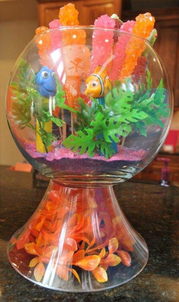 Candy Table Centerpiece, Finding Dory Birthday Party Ideas | Pretty My Party