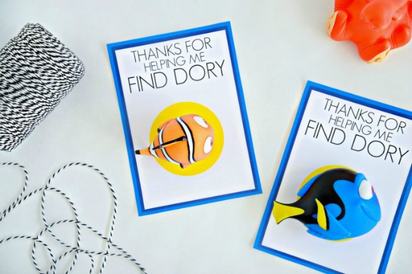 Party Favor Printable, Finding Dory Birthday Party Ideas | Pretty My Party