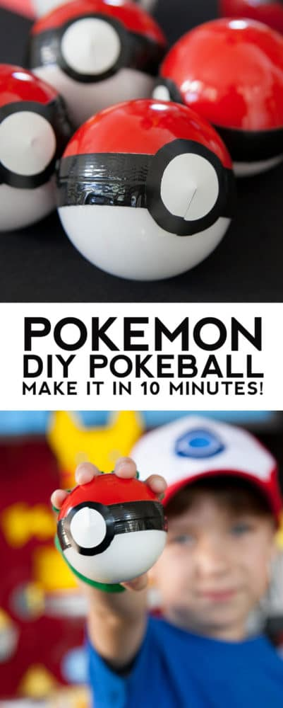 Pokeball - Creative Pokemon Birthday Party Ideas - Pretty My Party