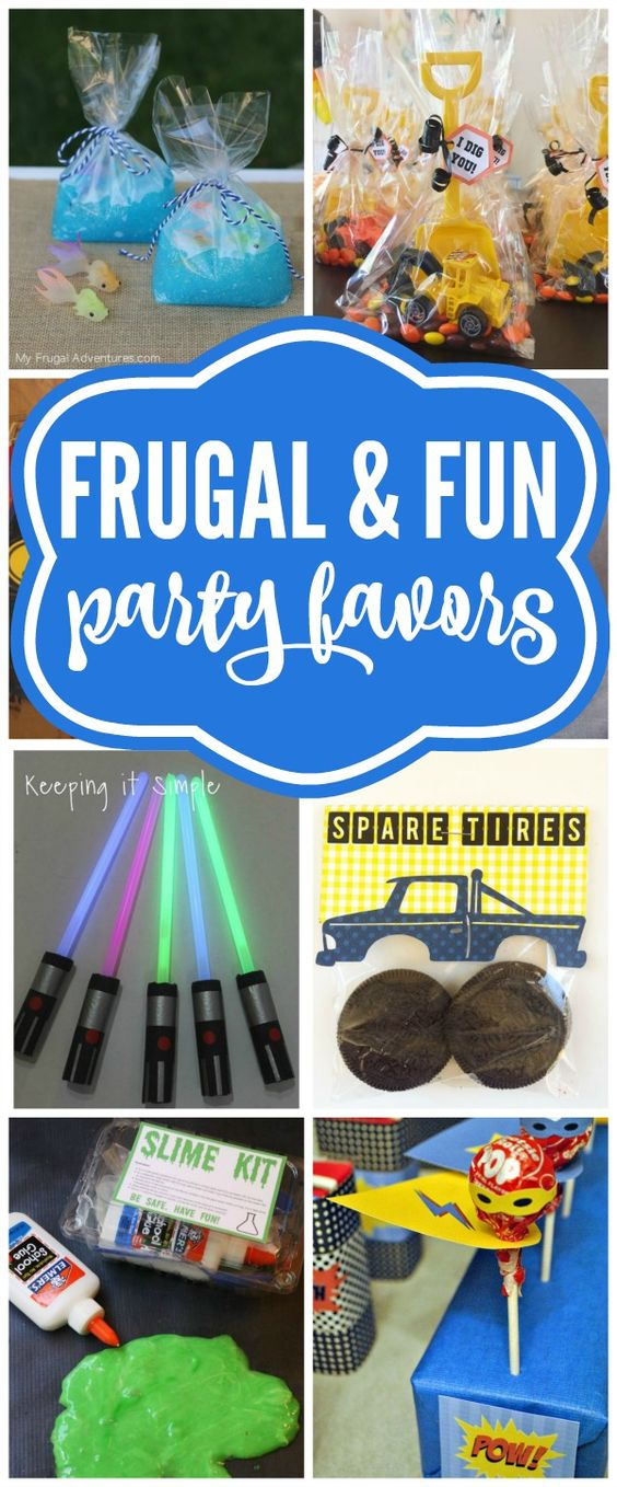 Budget Birthday Favor Ideas For Boys - Pretty My Party