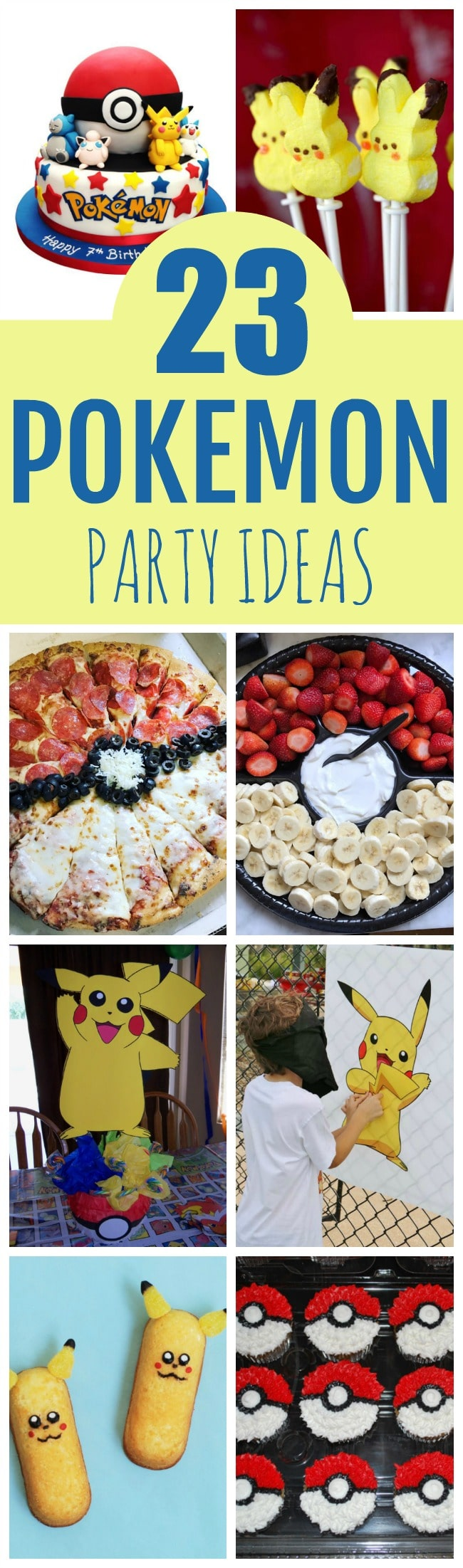 Creative Pokemon Birthday Party Ideas - Pretty My Party