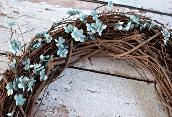 DIY Beach Inspired Wreath by Pretty My Party