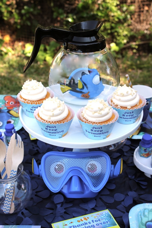 Finding Dory Birthday Party Ideas | Pretty My Party