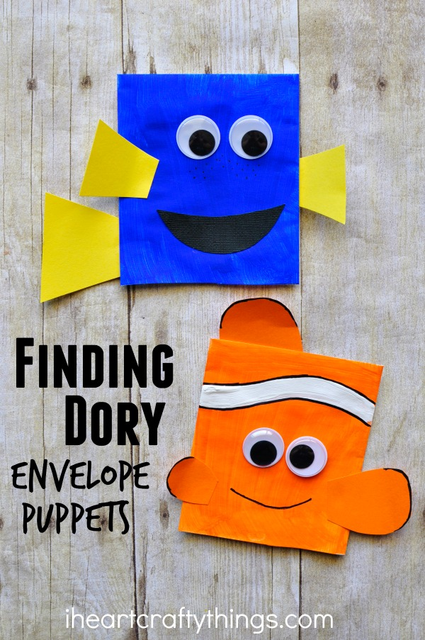 Dory Craft, Finding Dory Birthday Party Ideas | Pretty My Party