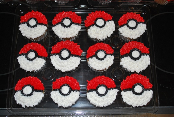 Cupcakes - Creative Pokemon Birthday Party Ideas - Pretty My Party