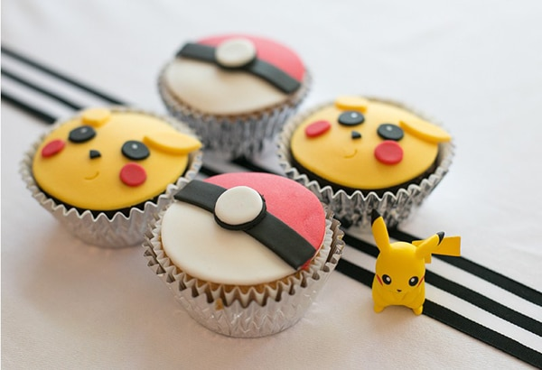 Creative Pokemon Birthday Party Cupcakes - Pretty My Party