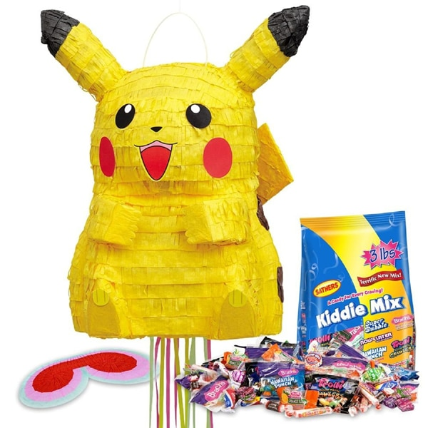 Pokemon Piñata - Creative Pokemon Birthday Party Ideas - Pretty My Party