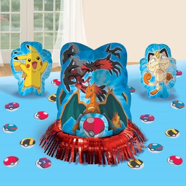 Pokemon Table Decorations - Creative Pokemon Birthday Party Ideas - Pretty My Party