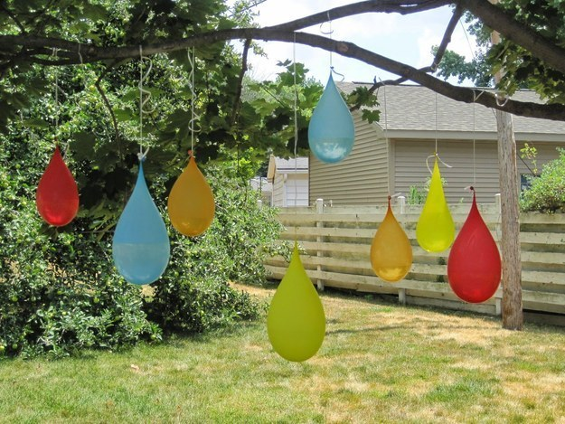 Water Games, 5 Backyard End of Summer Party Ideas via Pretty My Party