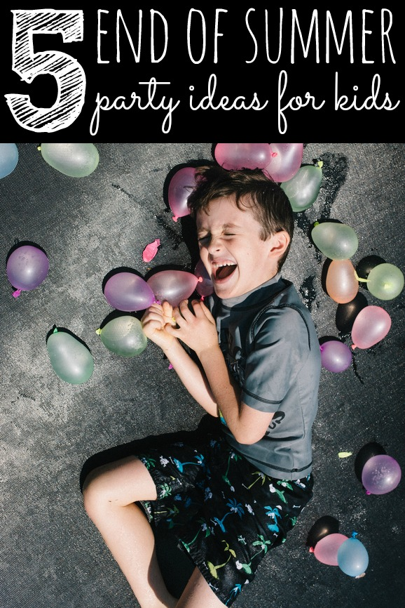 5 Backyard End of Summer Party Ideas via Pretty My Party