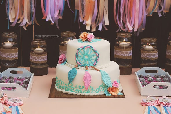 Dream Catcher Baby Shower Amazing Dream Catcher Baby Shower Cake