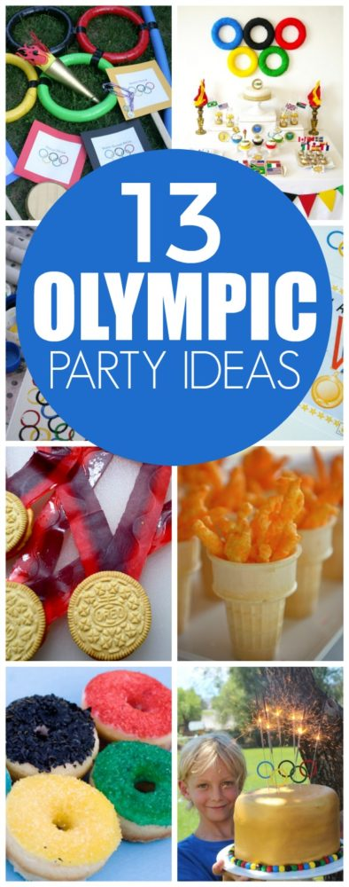 13 Creative Olympic Party Ideas via Pretty My Party