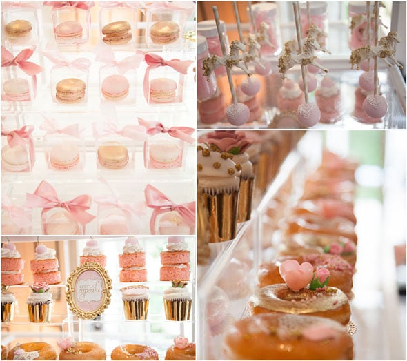 Tutu Cute Baby Shower Desserts via Pretty My Party