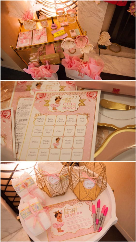 Tutu Cute Baby Shower Games via Pretty My Party